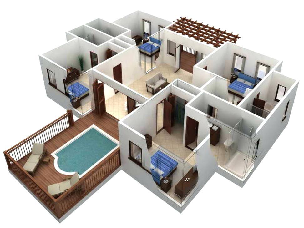 972x729 House Planning Program