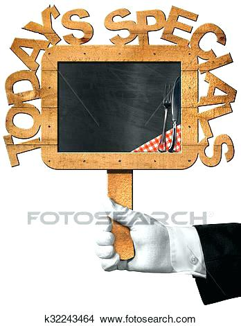 348x470 Pig Holding Chalkboard Chef Drawing Specials Search Clip Art