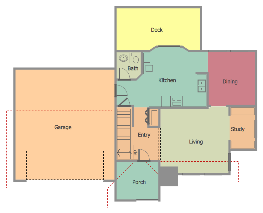 Home plan drawing at free for personal for Home building business plan