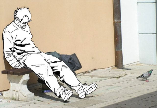 640x440 Image Result For Drawing And Homeless People Homeless Project