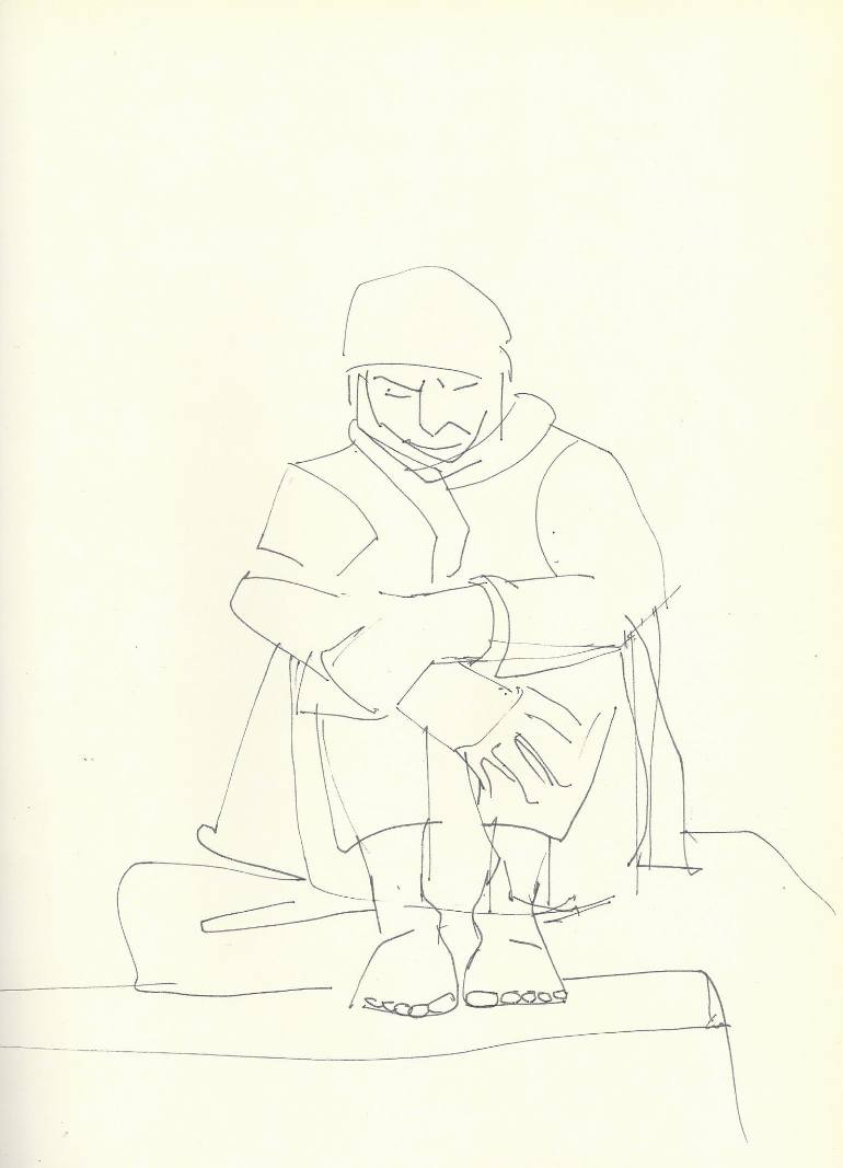 770x1067 Saatchi Art Homeless Drawing By Lera Bykova