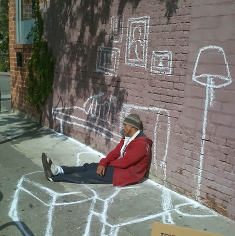 486x487 Street Art About Homelessness