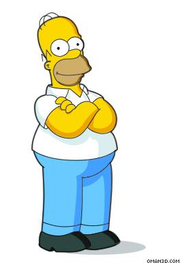 263x384 Drawing Homer Simpson