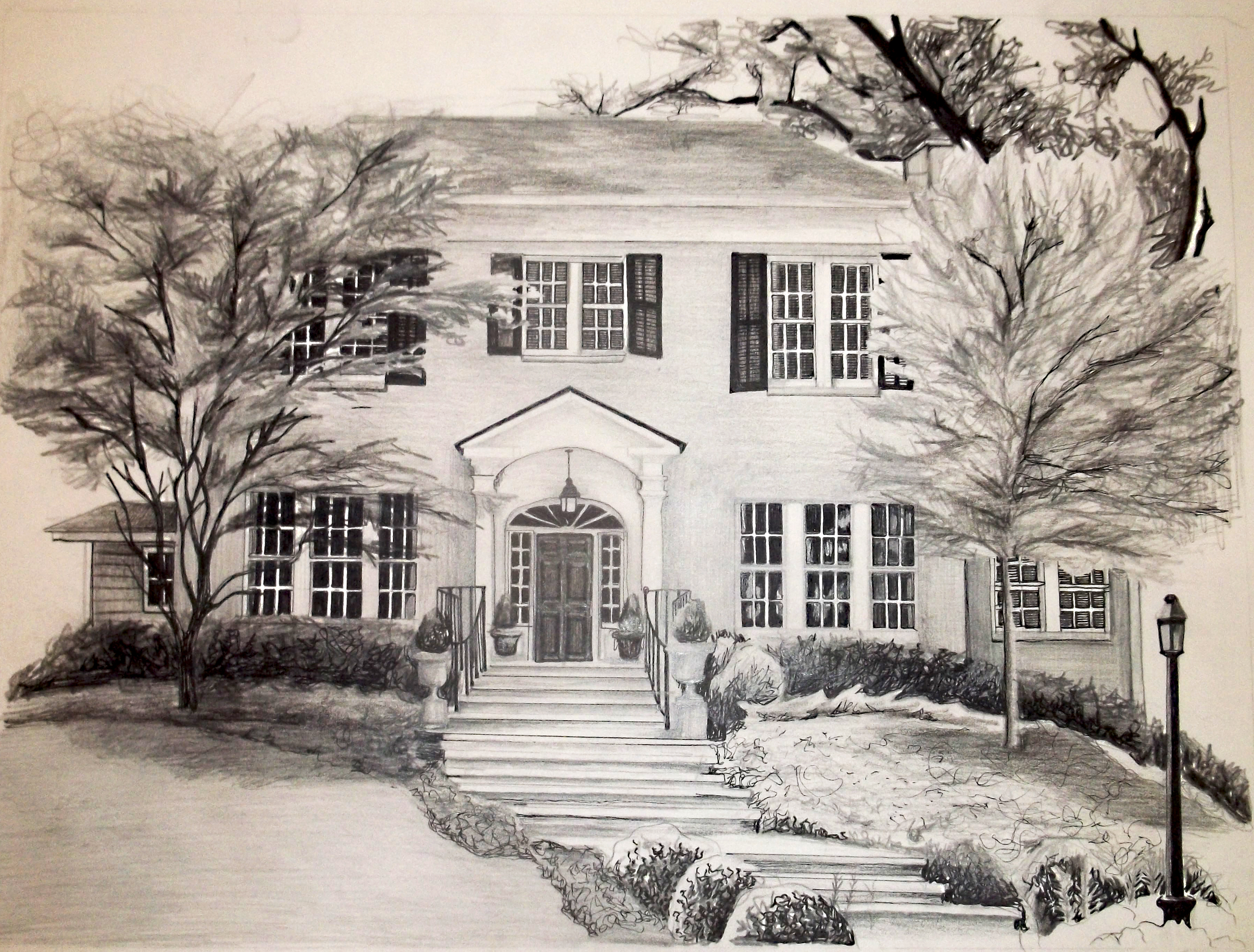 3611x2741 Delightful Drawings Of Homes