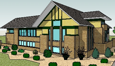 400x229 House Drawing Design Rustic Home Plans Design One Floor Bungalow