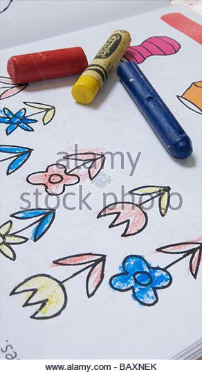 292x540 Children Drawing Colouring Doing Homework Stock Photos Amp Children