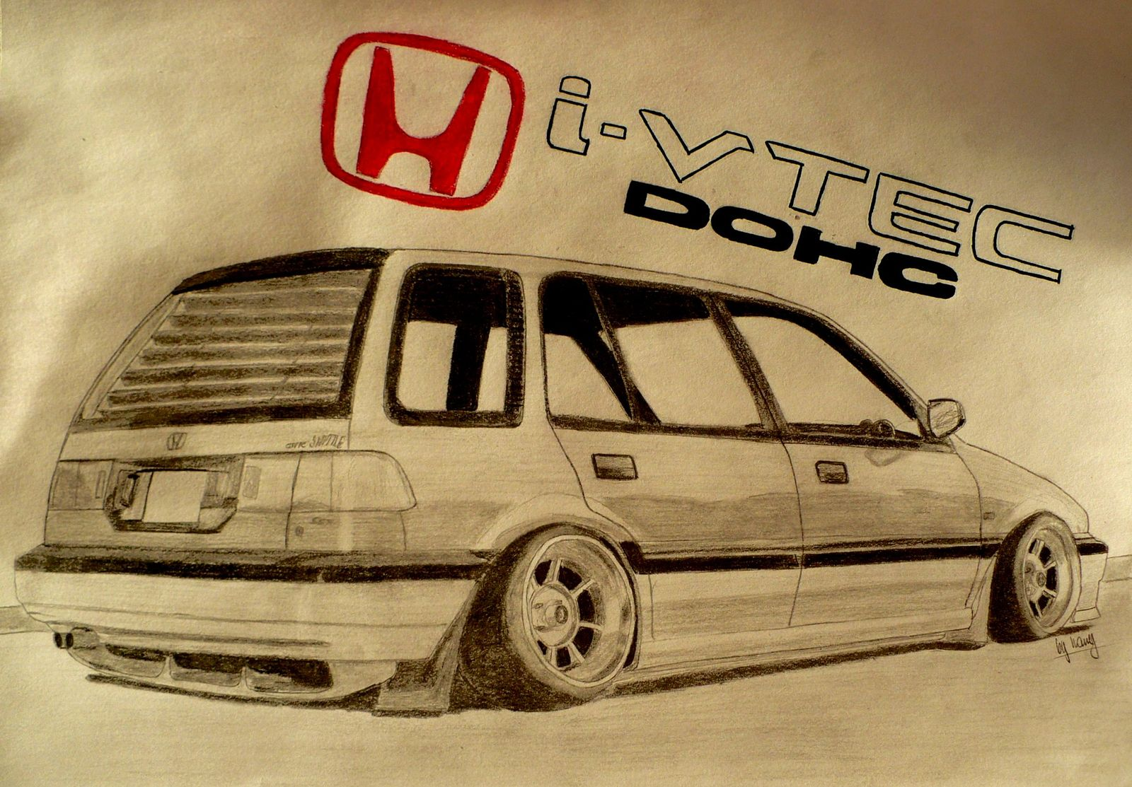 1600x1113 Shuttle Drawing By Hary1908