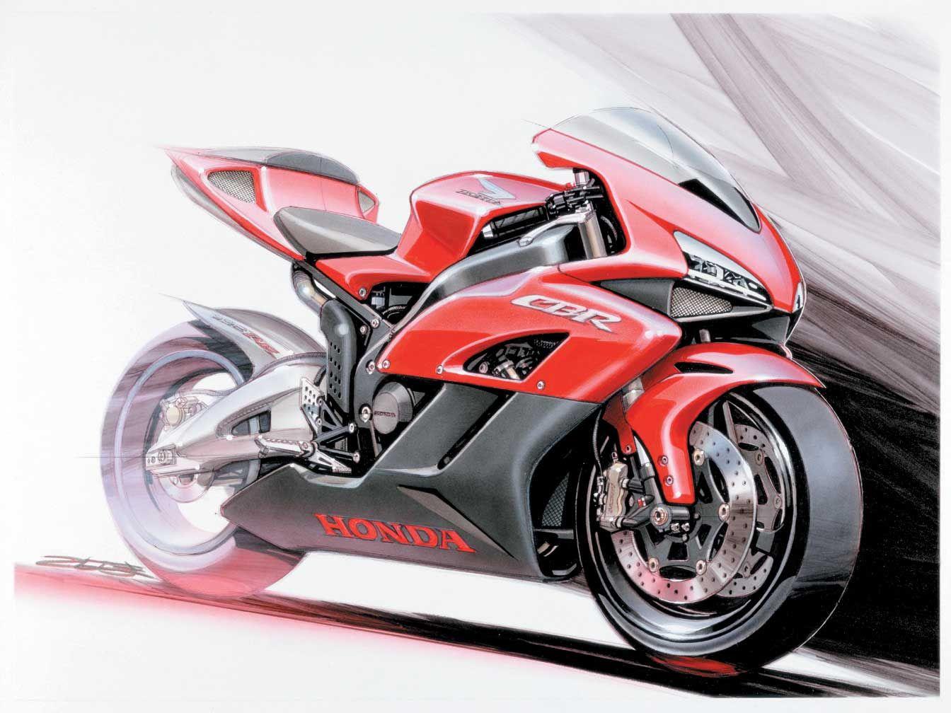 1344x1008 Honda 2004 Cbr1000rr Concept Drawing.jpg Motorcycle