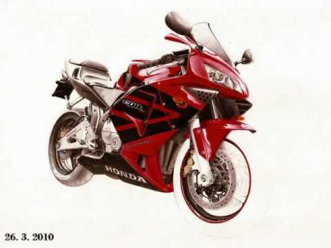 480x360 Honda Cbr Drawing