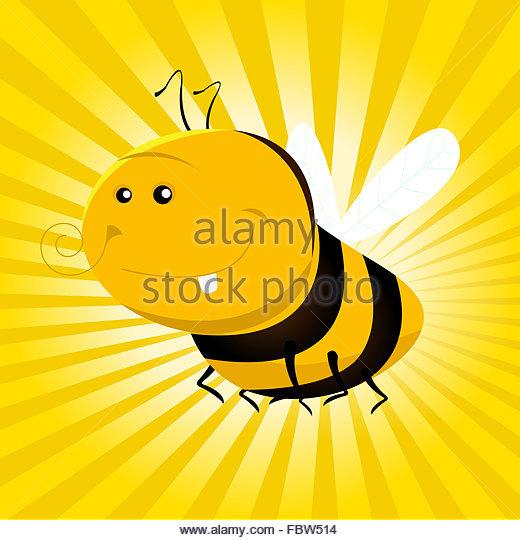 520x540 Honey Bee Cartoon Character Stock Photos Amp Honey Bee Cartoon