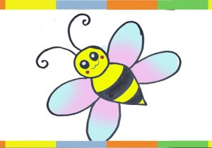 300x210 Bee Drawing Step By Step The Honeybee. Drawing Tutorial. Stock
