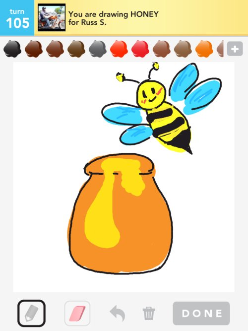500x667 Honey Drawings