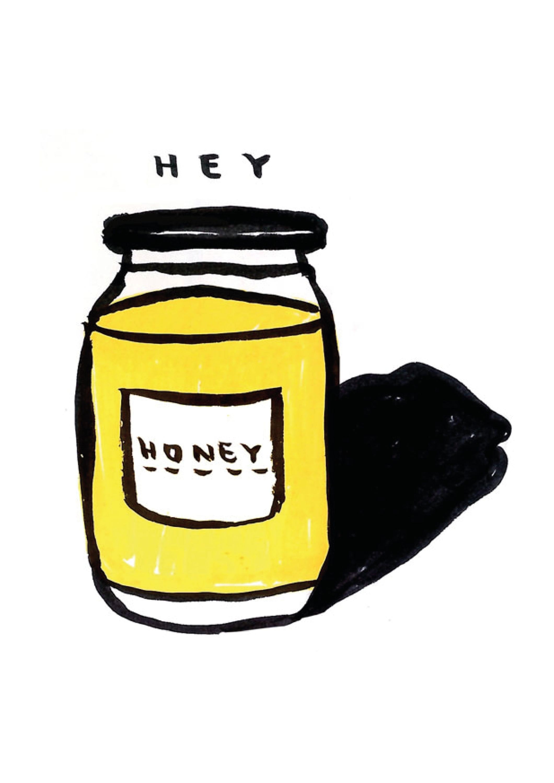2120x3000 Honey By Shut Up Claudia Original Artwork Buy Art Online