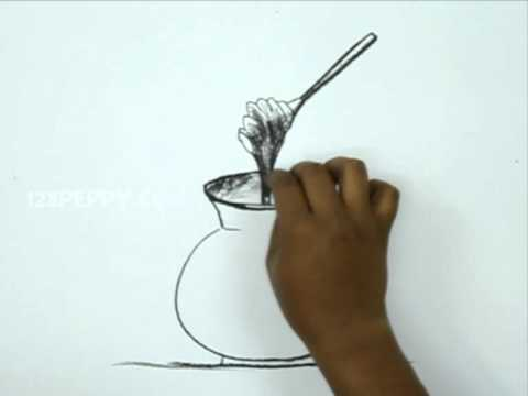 480x360 How To Draw A Honey Pot