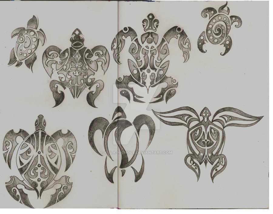 900x705 Honu Tattoo Designs By Kyla Nichole