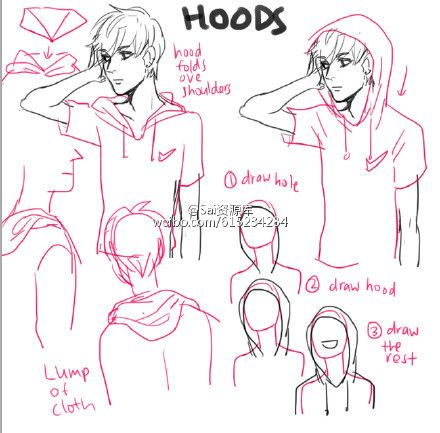 440x433 How To Draw Hood Drawing Tips (Official Board) By
