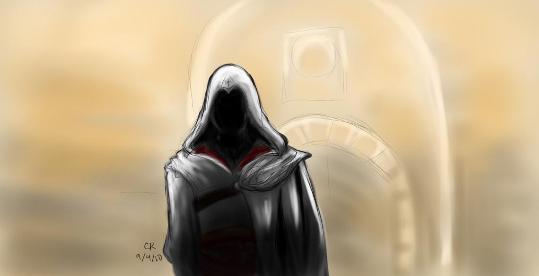 1101x564 Mysterious Hooded Man By Luckyneko13
