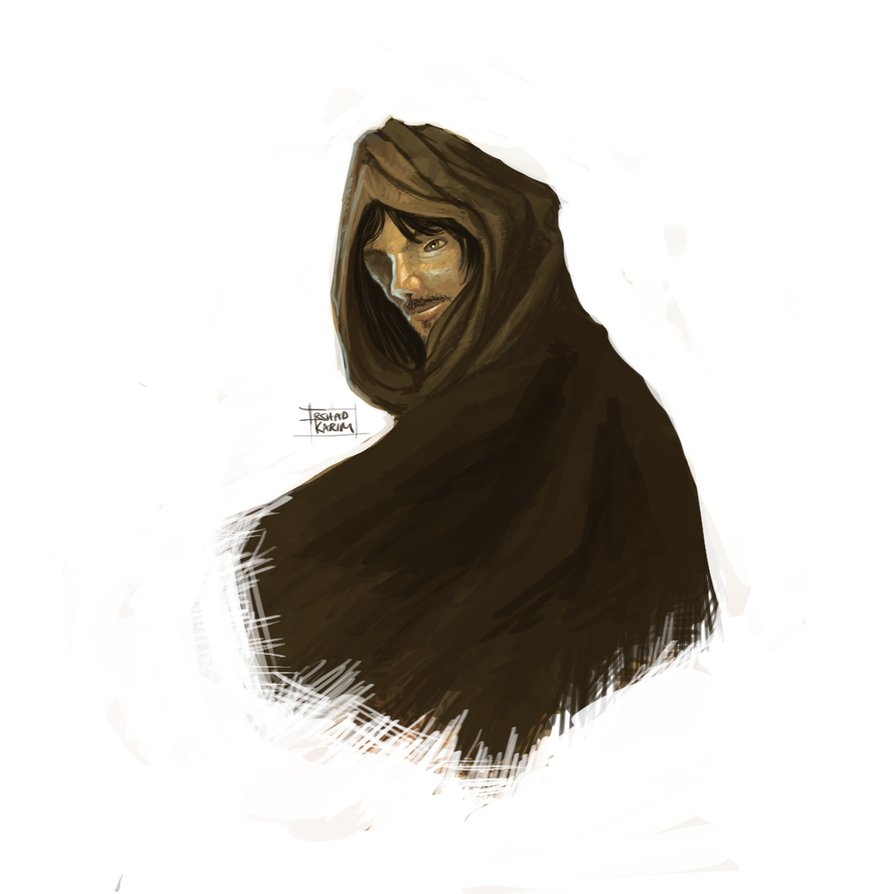 894x894 Quickie A Hooded Man By Khalo