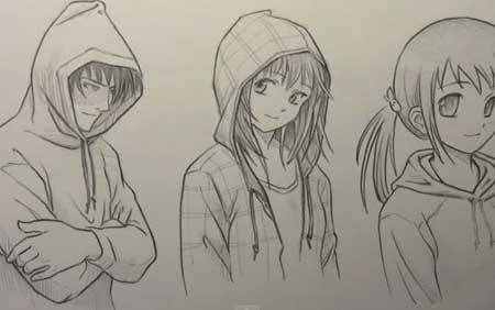 450x282 How To Draw Hoodies