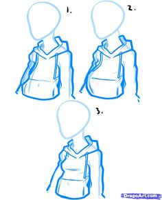 236x290 How To Draw A Hoodie, Draw Hoodies Sketch Reference