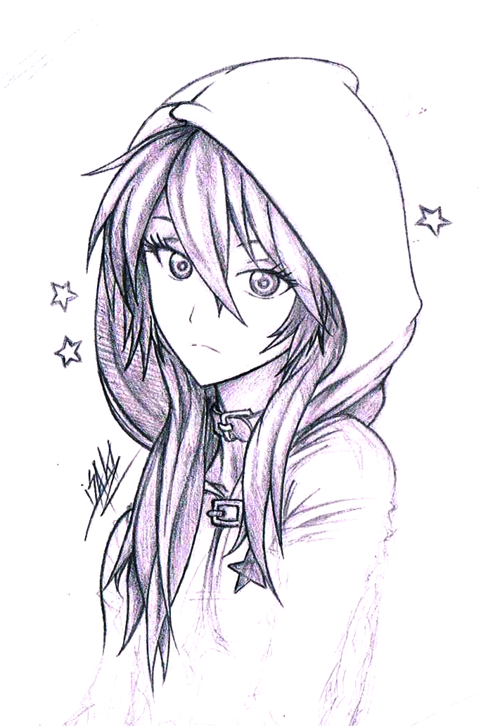 711x1033 Pictures Anime Hoodie Drawing,
