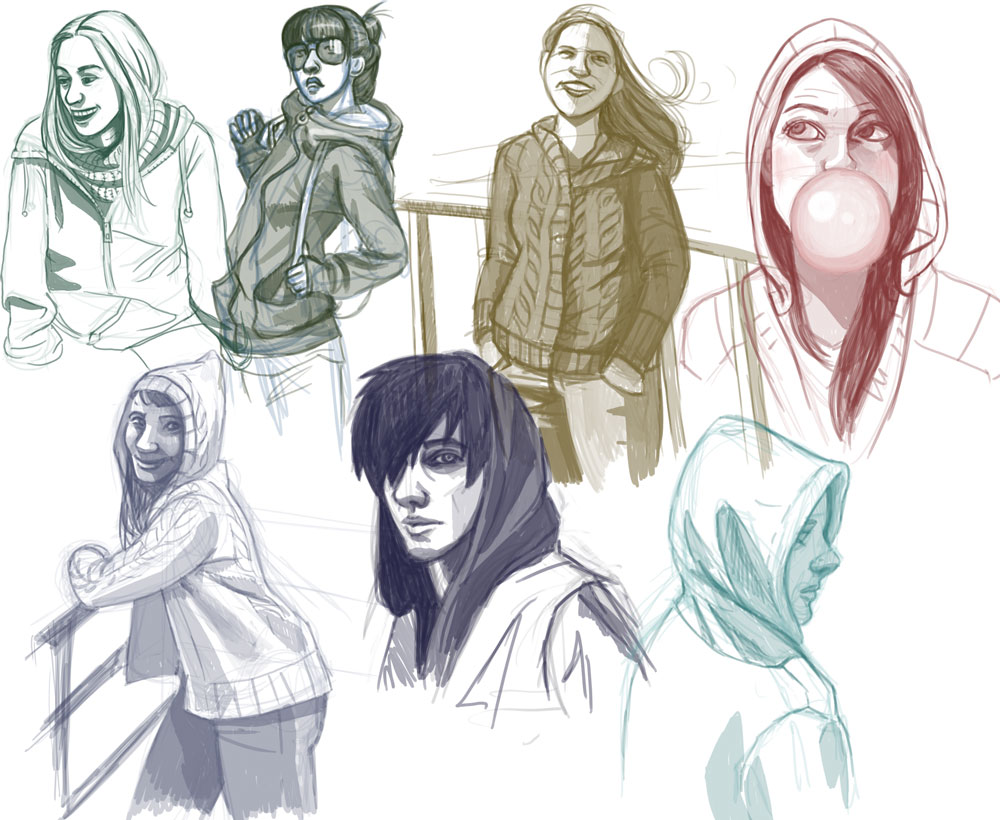 1000x820 How To Draw Hoodies