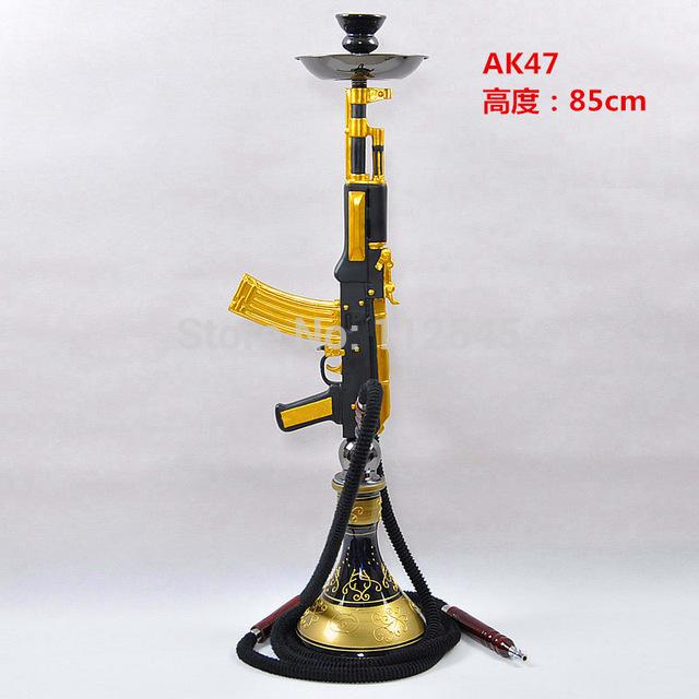 640x640 85cm Height Ak47 Gun Hookah,shisha.free Shipping Also For Russia