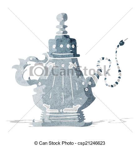 449x470 Cartoon Hookah Vector Illustration