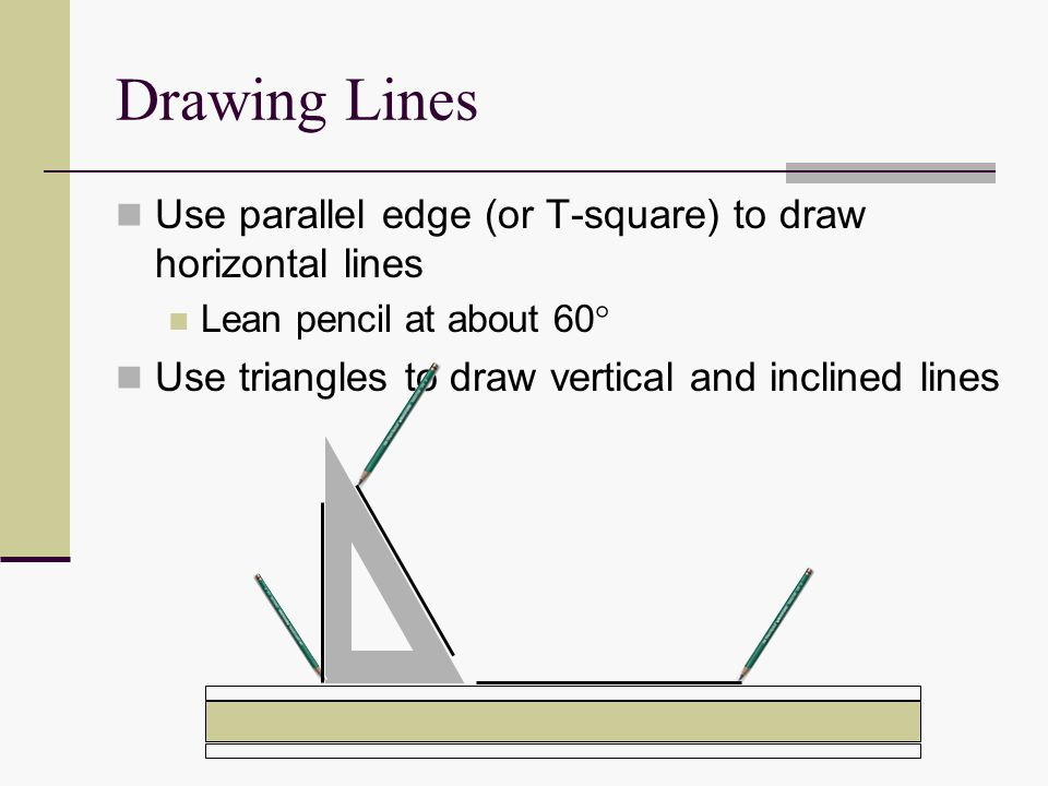 960x720 Demonstrate Correct Drawing Procedures