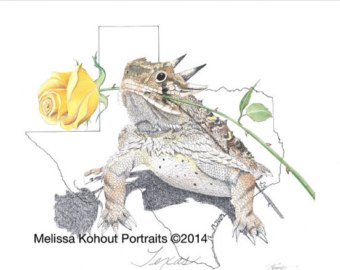 340x270 Horny Toad Frog Etsy
