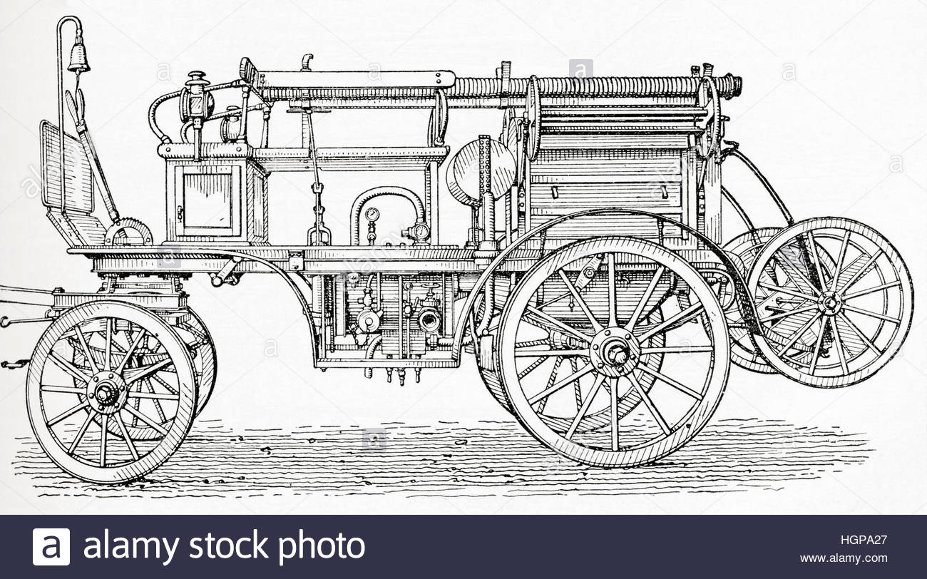1300x812n Early 20th Century Four Wheeled Horse Drawn Carriage