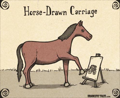 497x406 Horse Drawn Carriage