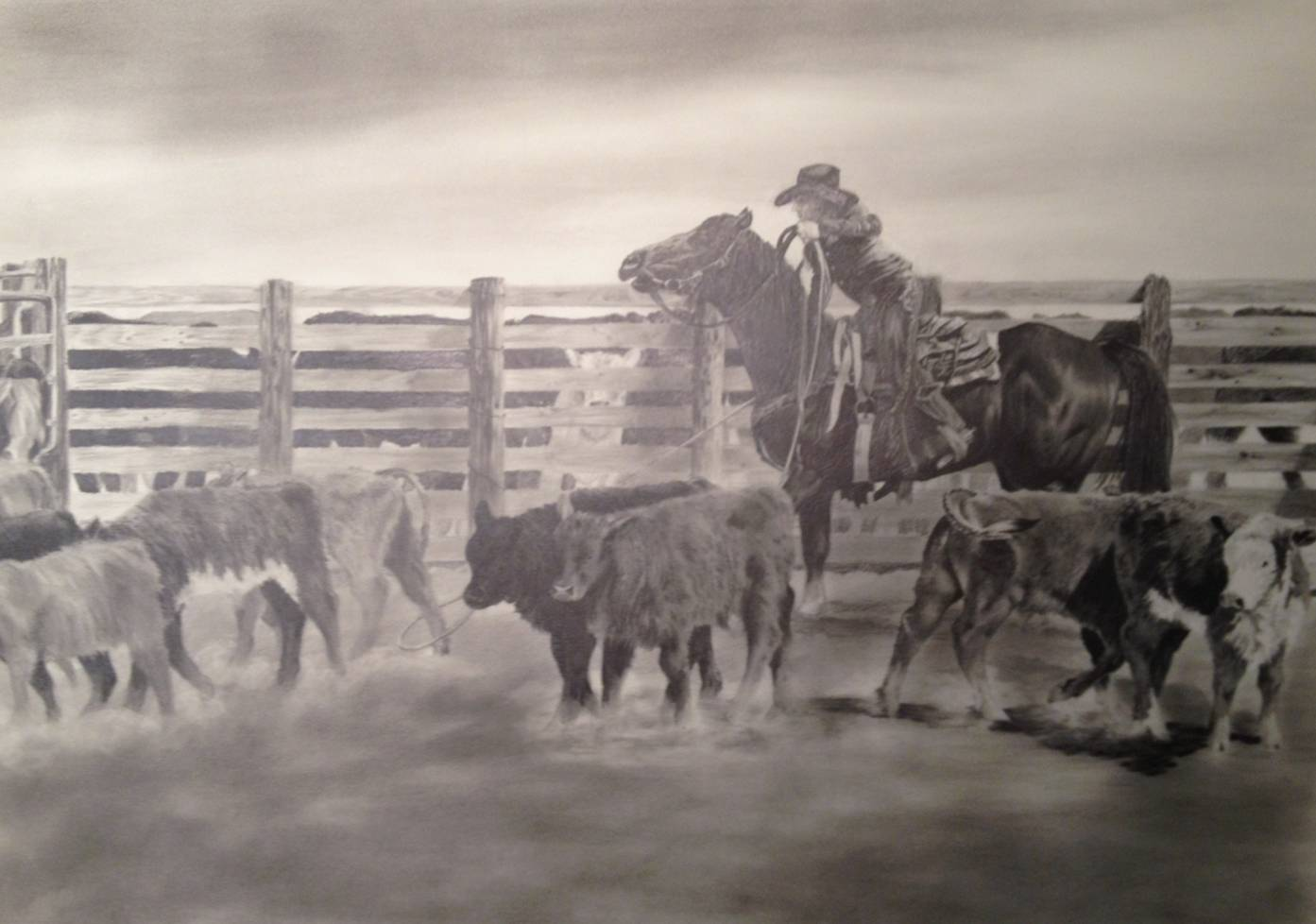 1393x978 Shades Of Graphite Pencil Drawings From The Artist, Geri Dunn