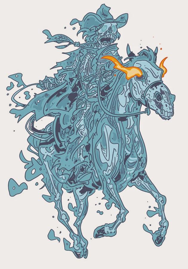 631x900 Chris Schweizer's The Crogan Adventures October Monster Drawing