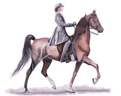 236x188 The American West Print The American Saddlebred Museum Work