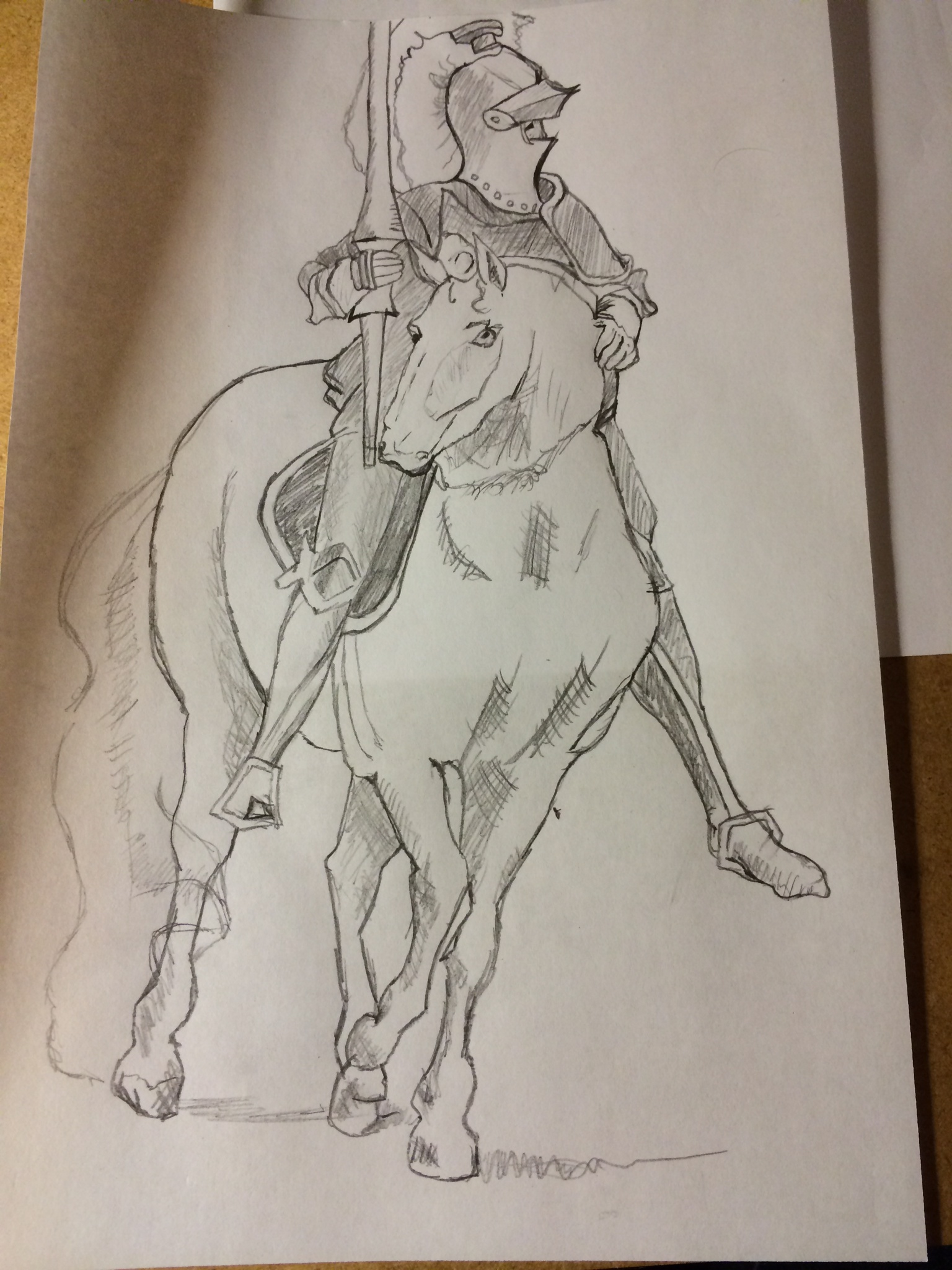 1536x2048 Upside Down Copy German Horse And Rider Jake Learns To Draw