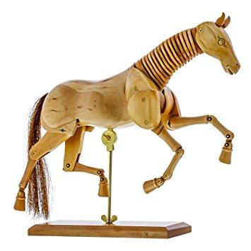 355x355 Us Art Supply Wooden Horse Artist Drawing Manikin