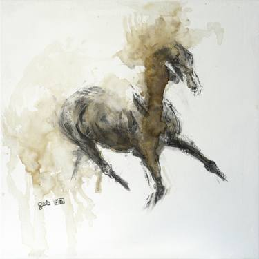 375x375 Horse Drawings For Sale Saatchi Art