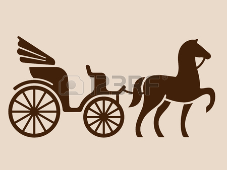 450x338 Horse Drawn Carriage Stock Photos. Royalty Free Business Images