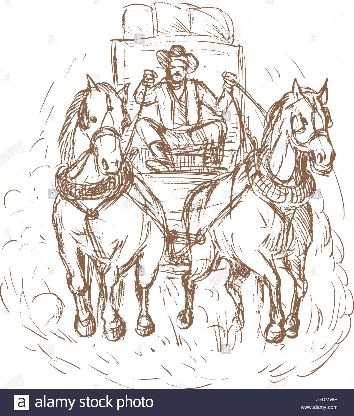 1183x1390 American Horse Carriage Drawing Photo Picture Image Copy Deduction