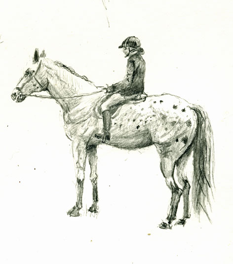 472x535 Drawing Horses – Mark Koslow