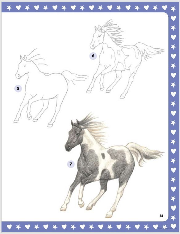 583x756 I Love Horses! Activity Book Horse Craft For Kids