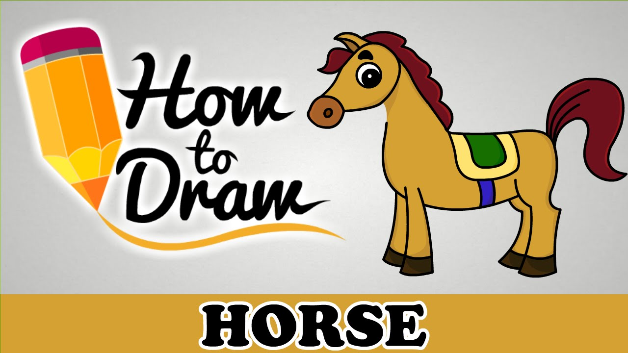 1280x720 How To Draw A Horse