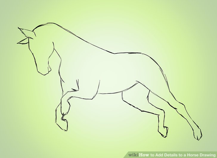 728x529 4 Ways To Add Details To A Horse Drawing