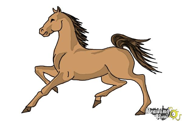 600x400 How To Draw A Horse (Ver 2)