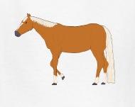 190x151 Palomino Horse Drawing T Shirt Spreadshirt