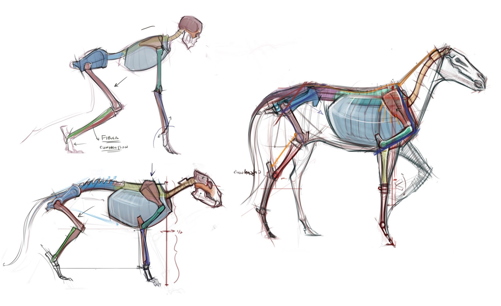 Horse Figure Drawing at GetDrawings.com | Free for personal use ...