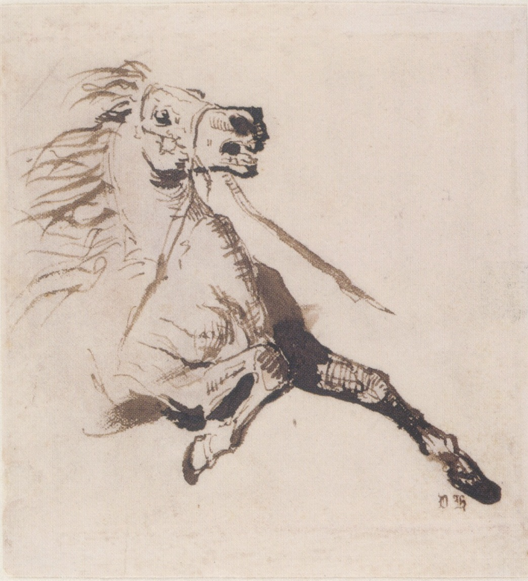 1043x1146 Epph Hugo's Galloping Horse (19th Cent.)