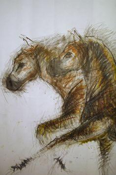 236x355 Horse Head, Art Work, Illustration, Pencil Drawing, Did You Hear