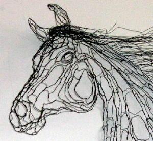 300x276 World Class Wire Sculpture By Elizabeth Berrien
